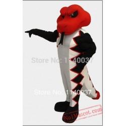 Diamondback Snake Mascot Costume
