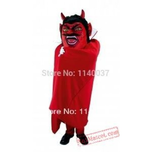 Costume Cosplay Devil Mascot Satan Costume