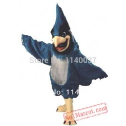 Big Blue Jay Mascot Costume