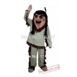 Costume Cosplay Brave Indian Mascot Native American Costume
