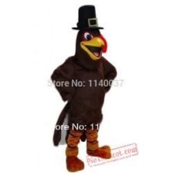 Thanksgiving Turkey Mascot Costume