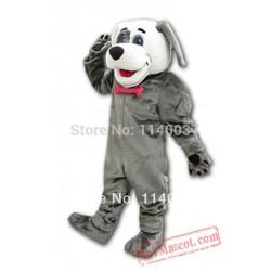 Professional Character Dog Costumes Grey Dog Mascot Costume