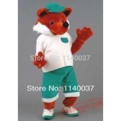 Red Fox Mascot Costume