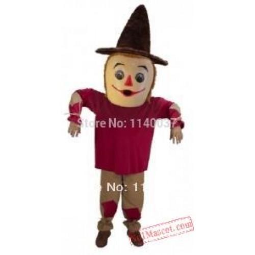 Costume Cosplay Scarecrow Mascot Costume