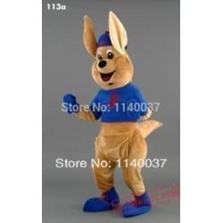 Boxing Kangaroo Mascot Costume