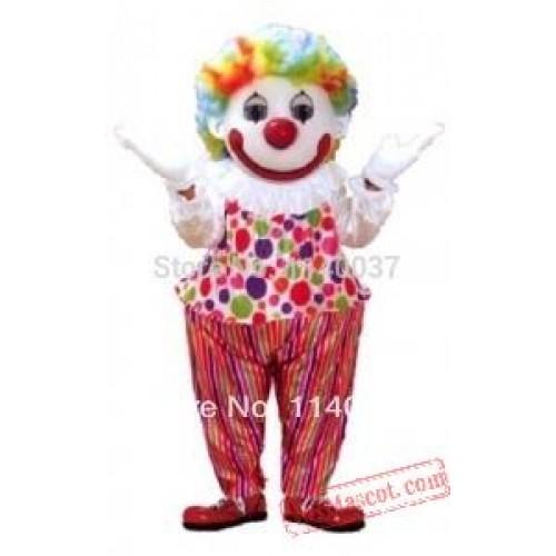 Costume Cosplay Happy Clown Mascot Costume