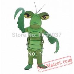Green Mantis Mascot Costume