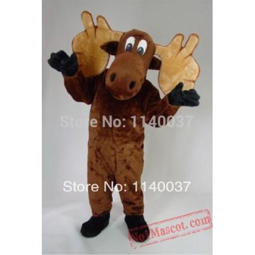 Big Moose Mascot Costume