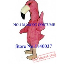 Anime Cosplay Costumes Pink Flamingo Mascot Costume