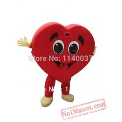Red Heart Mascot Costume