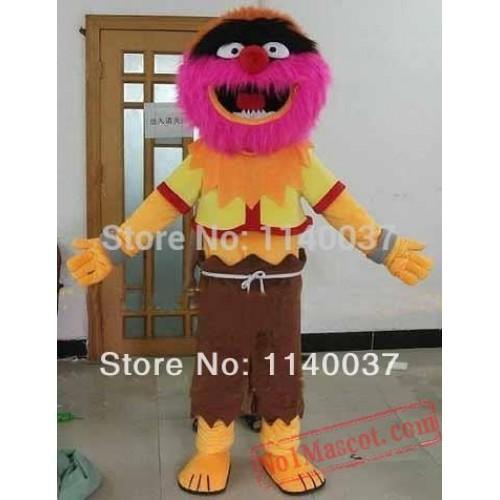 Animal Drummer Mascot Costume