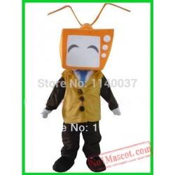 Orange Tv Mascot Costume