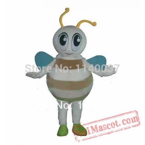 Big Eyes Honey Bee Mascot Costume