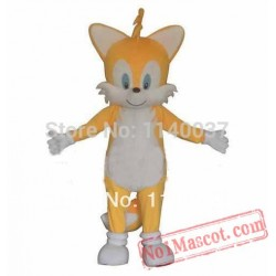 Miles Tails Prower Fox Mascot Costume