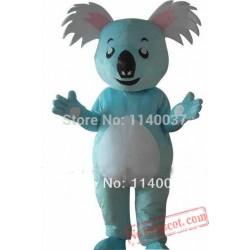 Blue Koala Mascot Costume