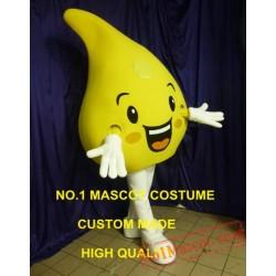 Lemon Mascot Costume