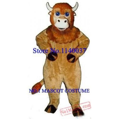 Baby Buffalo Mascot Costume