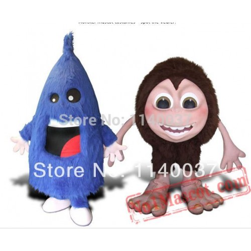 Monster Syle Mascot Costume